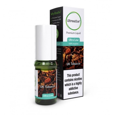 UK TOBACCO iBreathe Premium E-Liquid Refill 10ml